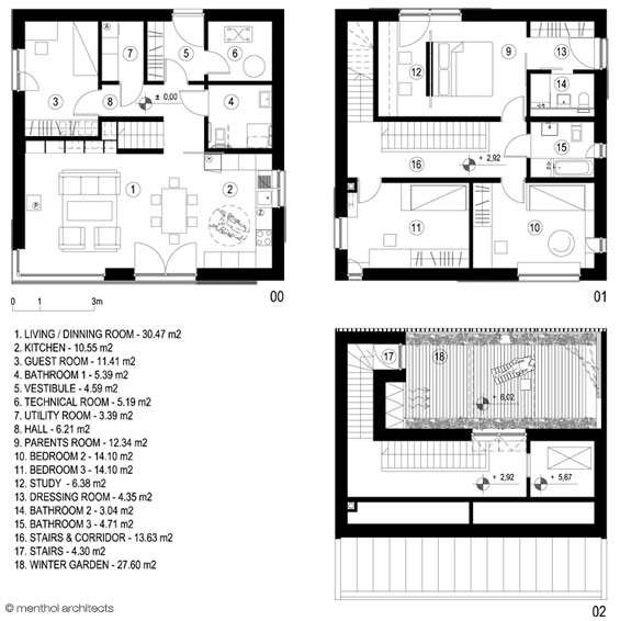 Menthol passive house 39 sky garden 39 Home layout planner