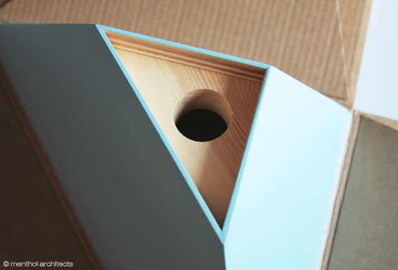 Dziupla - nesting box for birds