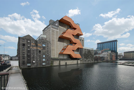Boland's Flour Mill at Grand Canal Dock